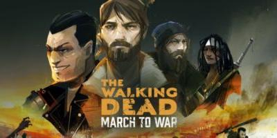 The Walking Dead: March to War, a beautiful looking game built around tired free-to-play mechanics