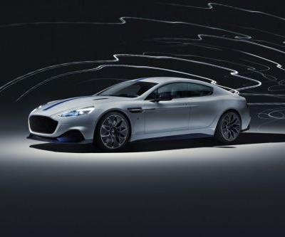 Aston Martin Rapide E Revealed With 601 HP