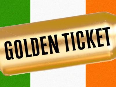 If You Find This Golden Beer Can, You Can Win a Free Trip to Ireland