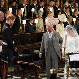 Cameras Caught an Especially Sweet Moment Between Harry and Charles at the Royal Wedding