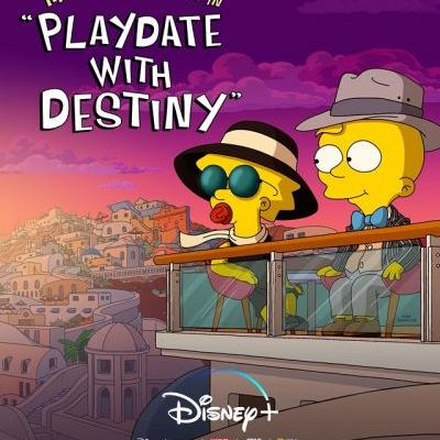 "THE SIMPSONS Animated Short ""Playdate With Destiny"" Arrives TOMORROW On Disney+"