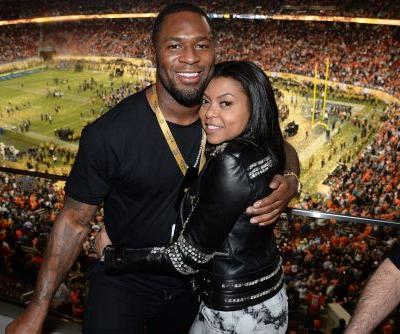Taraji P. Henson confirms relationship with former NFL-er
