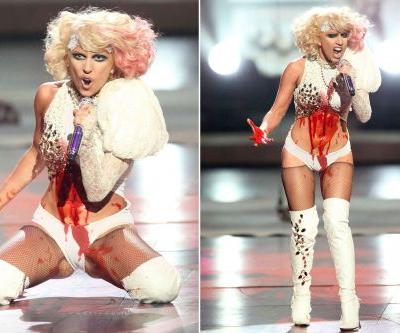 Lady Gaga's bloody VMAs 'masterpiece' finally released after 10 years