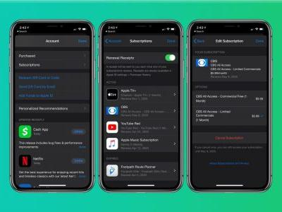 How to cancel Apple subscriptions and free trials on iPhone and iPad
