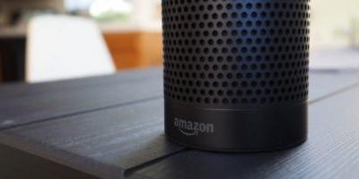 Amazon Echo with a display spotted in leaked image