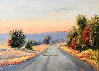 New Day Peace, New Contemporary Landscape Painting by Sheri Jones
