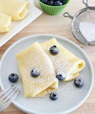 Ricotta Filled Crepe Recipe