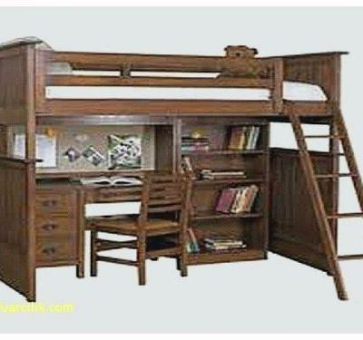 20 Lovely Loft Bed with Dresser and Desk Pictures