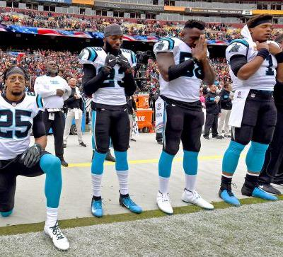 WATCH: Did Panthers' Eric Reid go after Eagles' Malcolm Jenkins before the game?