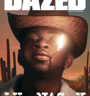 Dazed Goes West with Lil Nas X on the cover