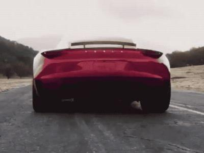 Watch Tesla's new Roadster show off its record-breaking speed