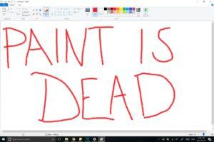 Microsoft is killing MS Paint after 32 years, sort of