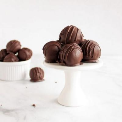 Mexican Chocolate Cake Balls