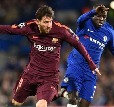 Messi scores first goal of career against Chelsea
