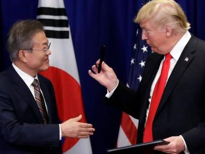 Trump just signed a revamped trade deal with South Korea, solidifying his first major win on trade