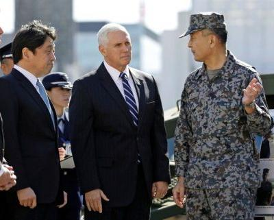 Pence says the US is about to hit North Korea with the 'toughest and most aggressive' sanctions yet