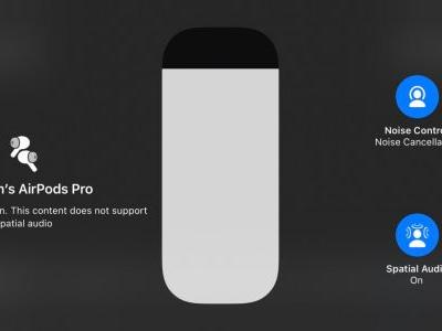New AirPods Pro Firmware Introduces Spatial Audio Support