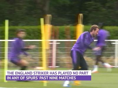 Kane trains ahead of Champions League final