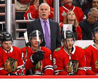 Blackhawks shake up NHL by firing 3-time Stanley Cup coach