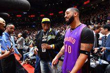 Drake Parties, Dances with the Canadian Flag as Toronto Raptors Win NBA Title: Watch