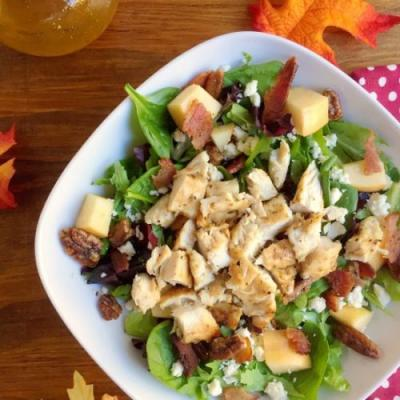 Harvest Salad w/ Maple Vinaigrette