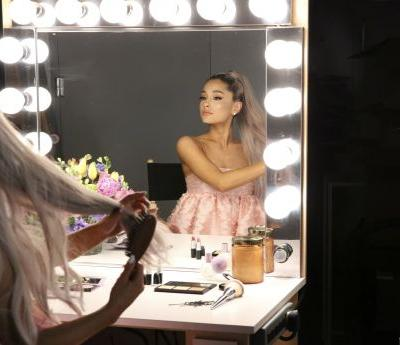 "Ariana Grande's Hairstylist Talks ""Glass Hair"" and Snatched Ponytails"