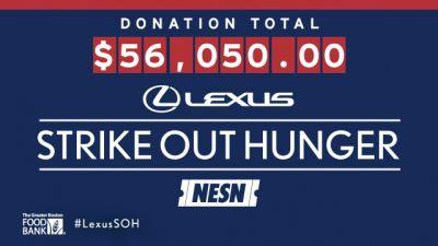 Lexus 'Strike Out Hunger' Program Returns In 2017 To Benefit Greater Boston Food Bank