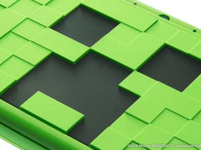 Nintendo Unveils Minecraft-Themed 2DS XL System, Signifying Strong Ongoing Relationship With Microsoft