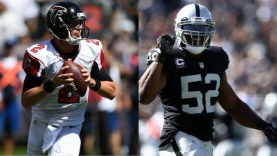 NFL Honors: Matt Ryan, Khalil Mack named Offensive, Defensive Players of the Year