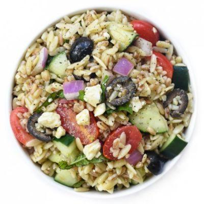 Greek Protein Power Pasta Salad