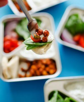 Packed Lunch Pro: Chickpea Gyro
