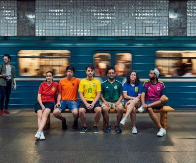 "Activists Create ""Hidden"" Rainbow Flag to Protest Anti-LGBTQ Laws in Russia During World Cup"
