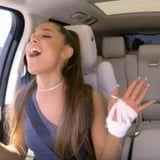Wow! Ariana Grande Belts It Out With James Corden During Their Carpool Karaoke