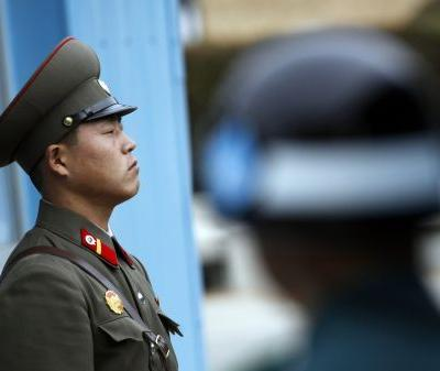 North Korean soldiers fired 40 shots and hit their comrade 5 times as he defected south