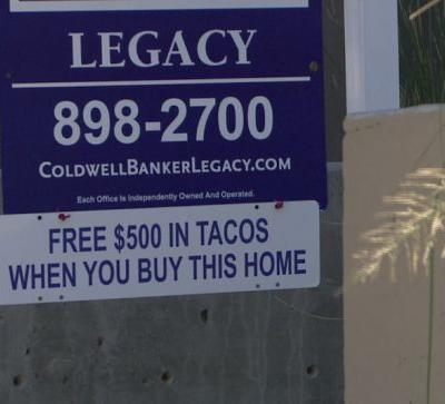 Realtor cooks up interest by offering $500 worth of tacos with town house