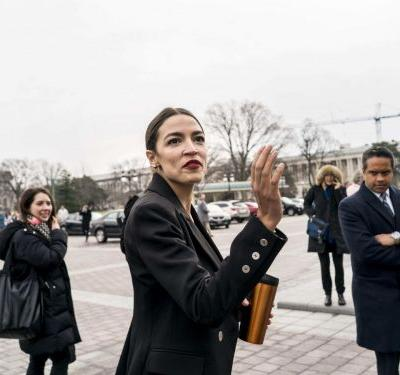 Alexandria Ocasio-Cortez Wore Berry Lipstick - & Now We Want To Wear It, Too
