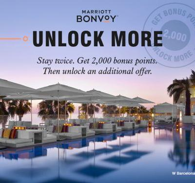 """Unlock More"" Earning Opportunities with Marriott Bonvoy's Last Global Points Promotion of 2019"