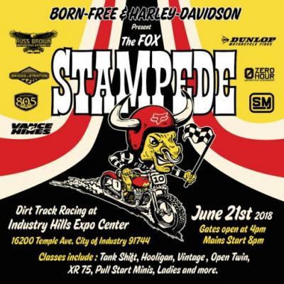 The Stampede is Set For June 21st