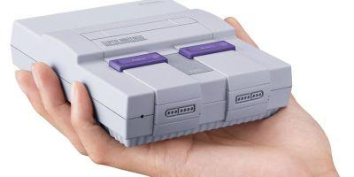 Nintendo SNES Classic Available For Pre-Order This Month