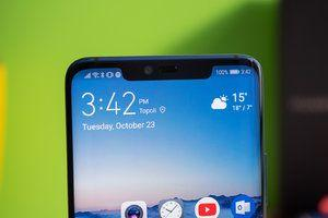 Huawei just patented a phone with a very unique notch solution
