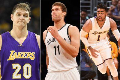Nets and Lakers pull off stunning Lopez-Russell blockbuster