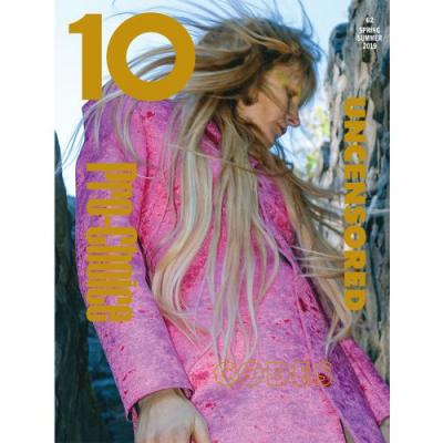 The Final Cover of Issue 62 Stars Kirsten Owen Wearing Balenciaga