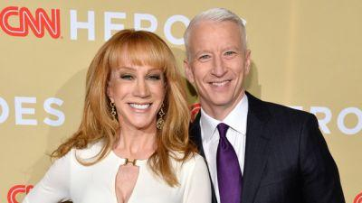 Kathy Griffin Admits Her Friendship With Anderson Cooper Is Over