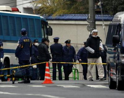 Japanese police arrest 2 men suspected of shooting up a pro-North Korean compound