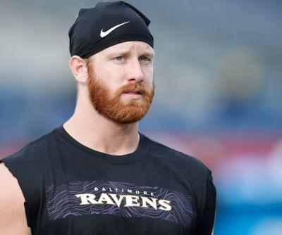Ravens' Hayden Hurst turns to Twitter to find 'gorgeous' mystery woman