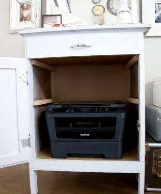 30 Beautiful Desk with Printer Space Pictures