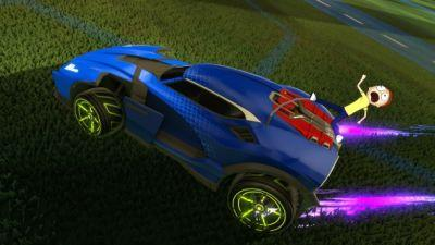 Rick And Morty Invades Several Games, Including Rocket League