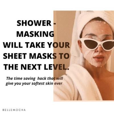 This Might Be the Greatest Sheet Mask Tip of All Time!