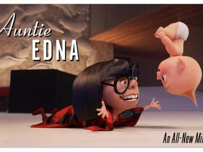 Incredibles 2 Blu-ray Will Feature Auntie Edna with Jack-Jack Short