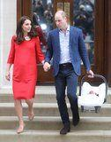 Will and Kate Take a Cue From Harry and Meghan and Show Rare PDA at the Royal Baby's Debut